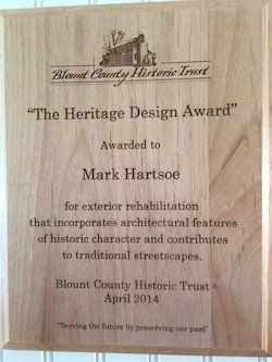Historic Preservation Award 2014